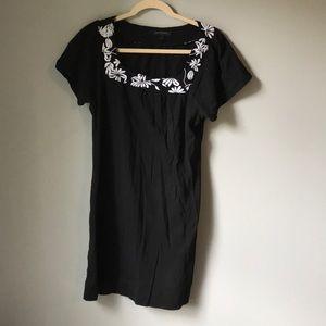 Banana Republic Black Tunic Dress